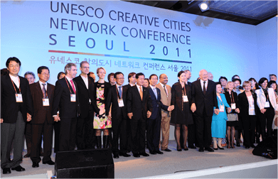 UNESCO CREATIVE CITIES NETWORK CONFERENCE SEOUL 2011